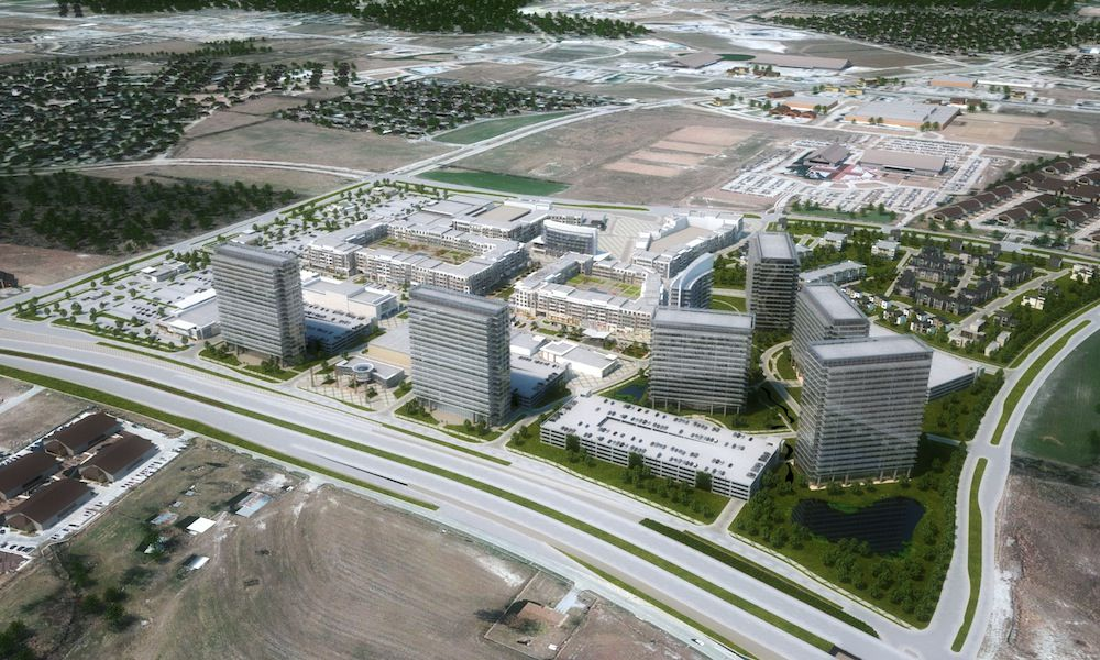 Wade Park is one of the biggest mixed-use projects planned in Dallas northern suburbs.