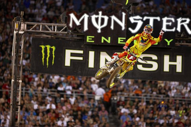 Monster Energy Supercross será el sábado en Arlington.Fotos: © Sport the library/Jeff Crow