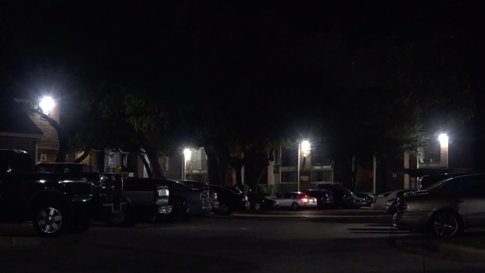 Officers responded about 6 p.m. to the Magnolia Creek Apartments in the 7200 block of Marvin D. Love Freeway, near West Camp Wisdom Road.