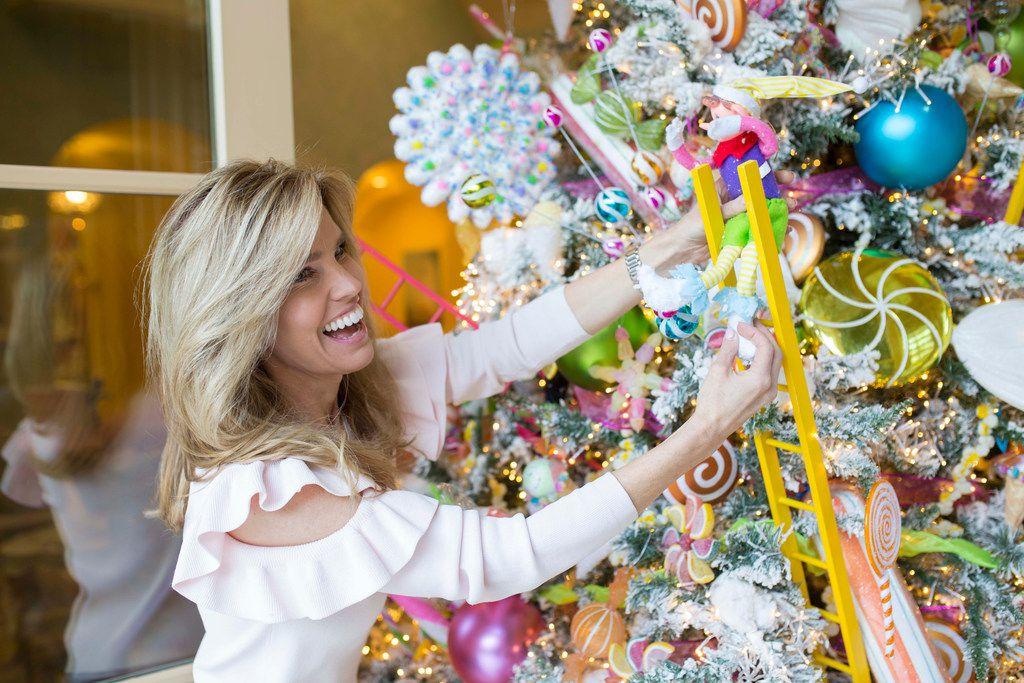 Jennifer Houghton spent 26 days decorating her University Park home for Christmas in 2017.