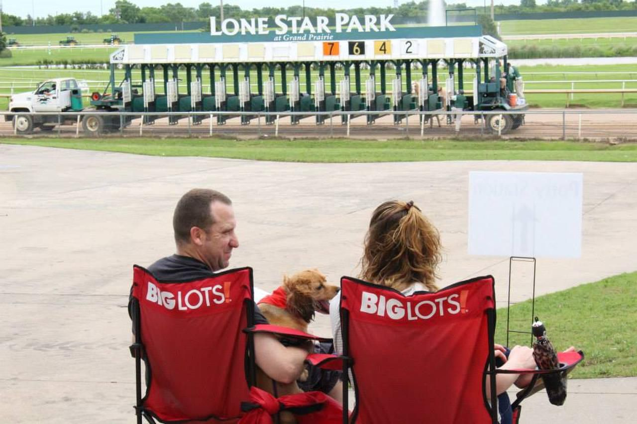 Lone Star Bark on Sunday will include live racing, pet-friendly vendors and a Doggy Dash featuring local little dogs.