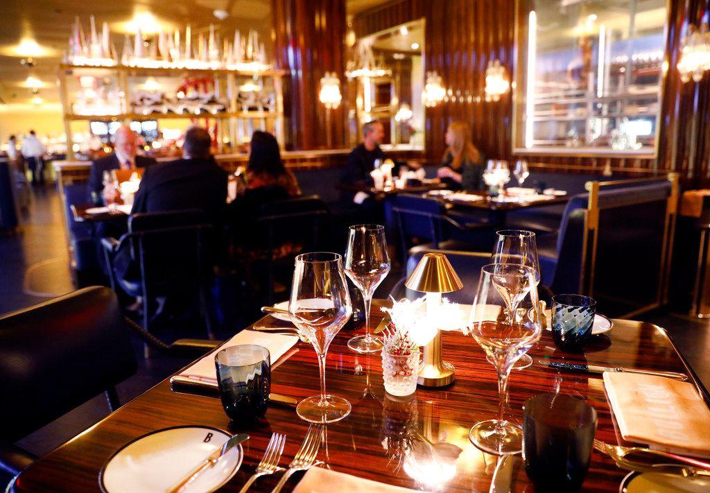Bullion's opulent dining room