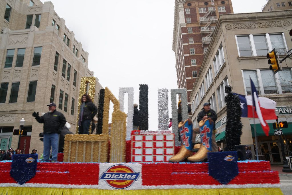 """Thousands came out for the Fort Worth Stock Show's """"All Western Parade"""" in downtown Fort Worth in January. Everything from covered wagons, high school marching bands, and horse clubs participated. (Lawrence Jenkins/Special Contributor)"""