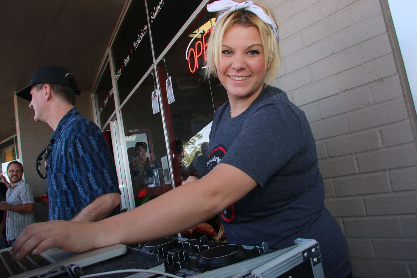 DJ Kelly Hooper was there for the grand opening.