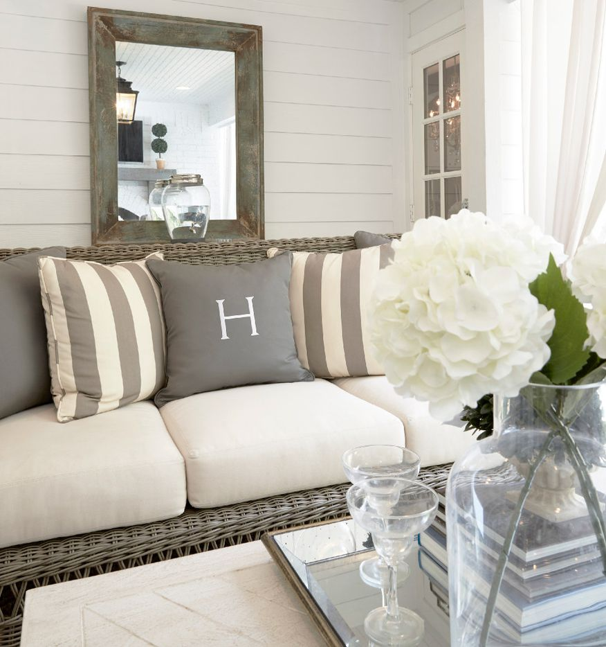Turn your outdoor spaces into something you'll actually use. Emily Hewett says paying attention to accessories and details help tranform an outdoor spot into a cozy living space.
