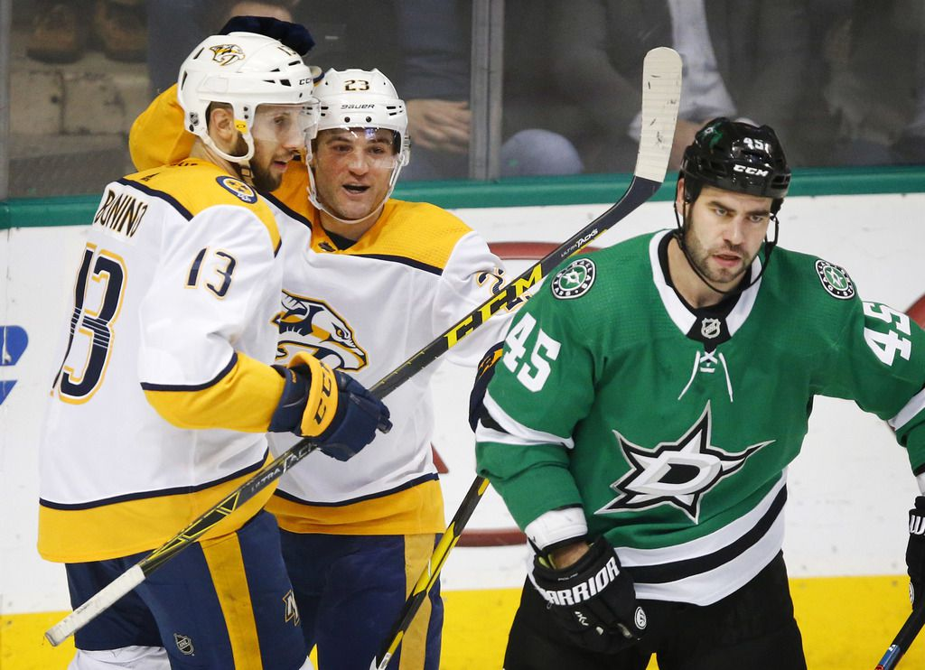 Nashville Predators y Dallas Stars se medirán en playoffs de la NHL 2019. (Tom Fox/The Dallas Morning News)