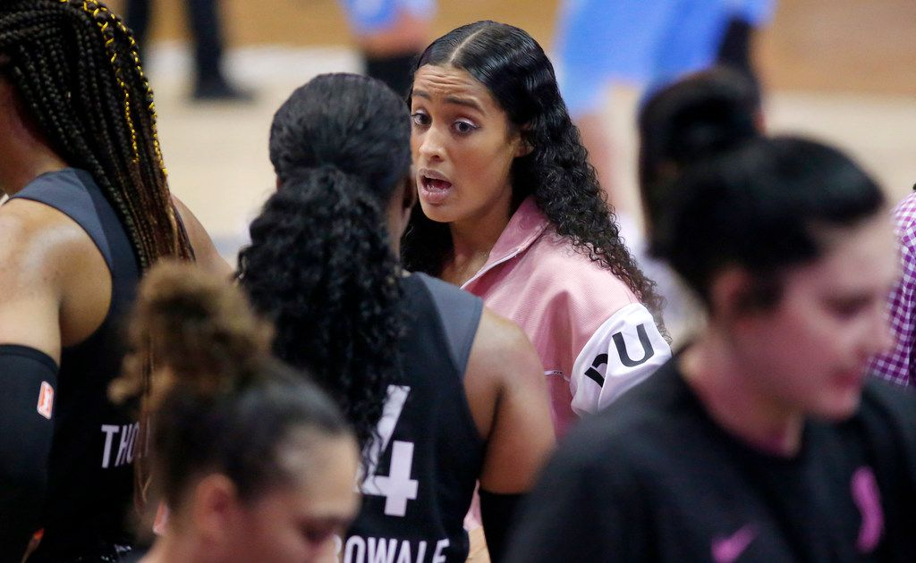 Wings All-Star Skylar Diggins-Smith says she played the 'entire' 2018 season pregnant