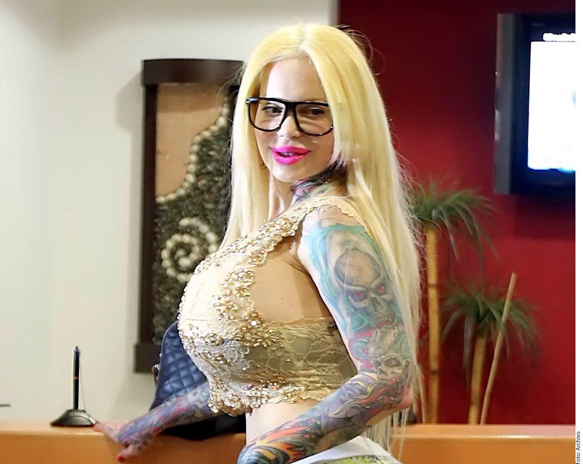 Sabrina Sabrok se pondrá implantes de 5 kilos y los mostrará a sus fans./ AGENCIA REFORMA
