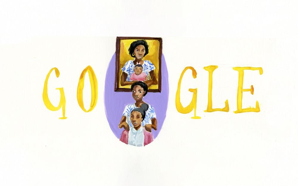 Dibujo por Arantza Peña Popo finalista de Doodle for Google.