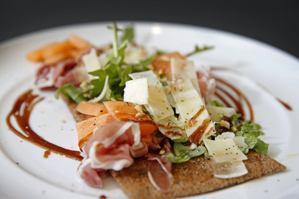 Special Crepe with Prosciutto, Cantaloupe, Parmigiano, Arugula, Hazelnuts, Honey, Balsamic at Whisk Crepe Cafe in Sylvan Thirty in Dallas, Wednesday, Jan. 27, 2016. (Jae S. Lee/The Dallas Morning News)
