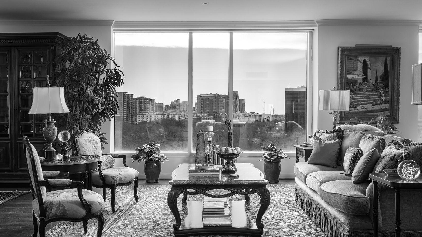Susan Bradley of Allie Beth Allman & Associates is offering Unit 5E at the Claridge Condominiums, 3510 Turtle Creek, for $850,000.