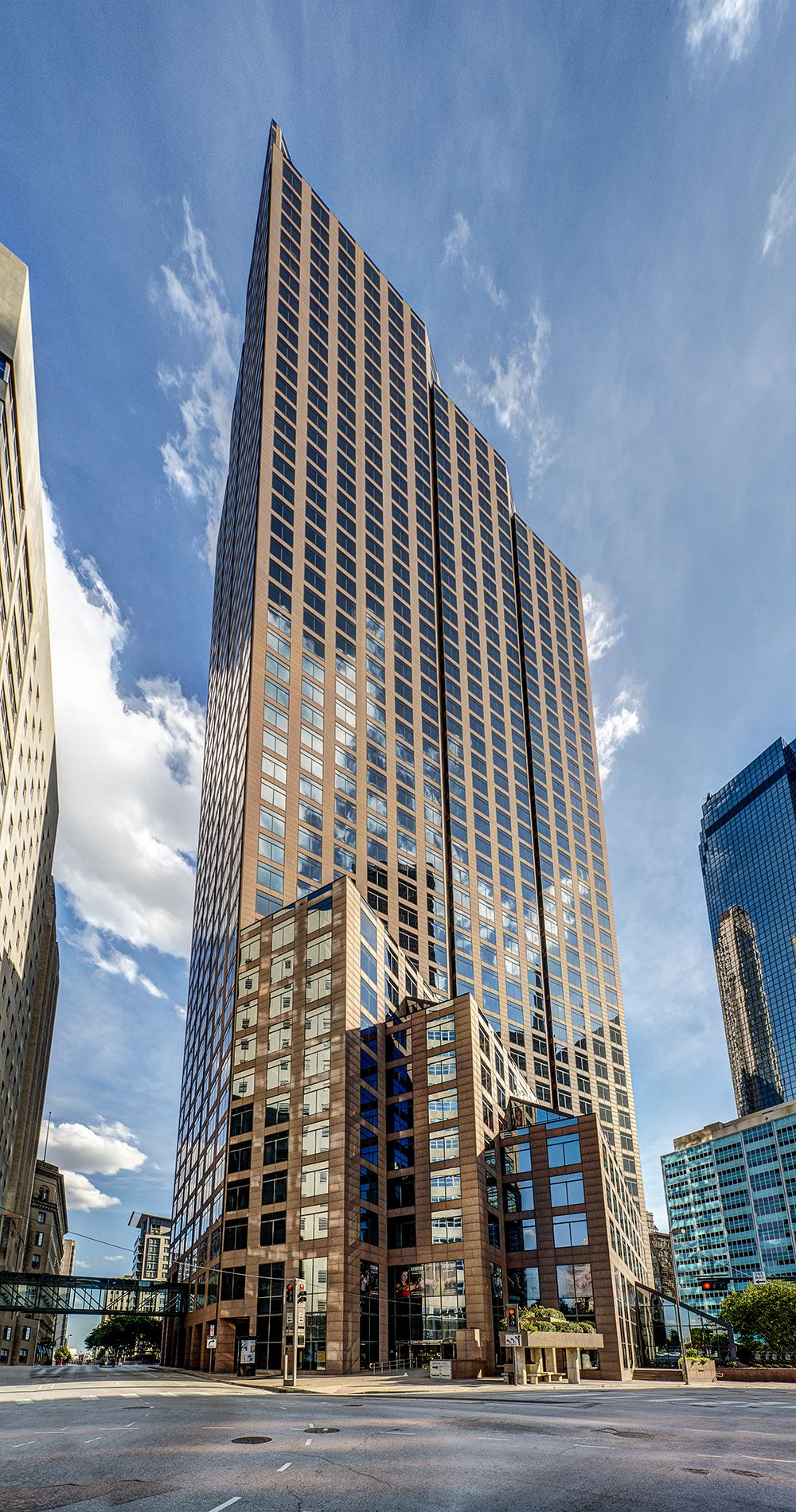Akin Gump now has about 90 attorneys working in the 49-story 1700 Pacific tower downtown.