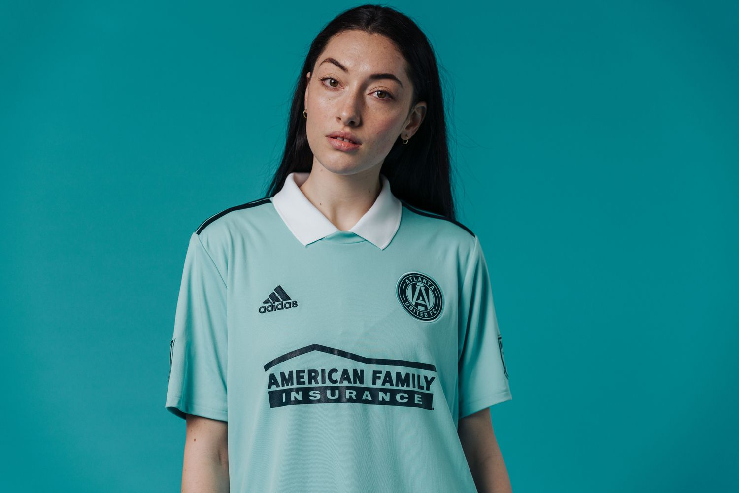 The 2019 Atlanta United Parley jersey.