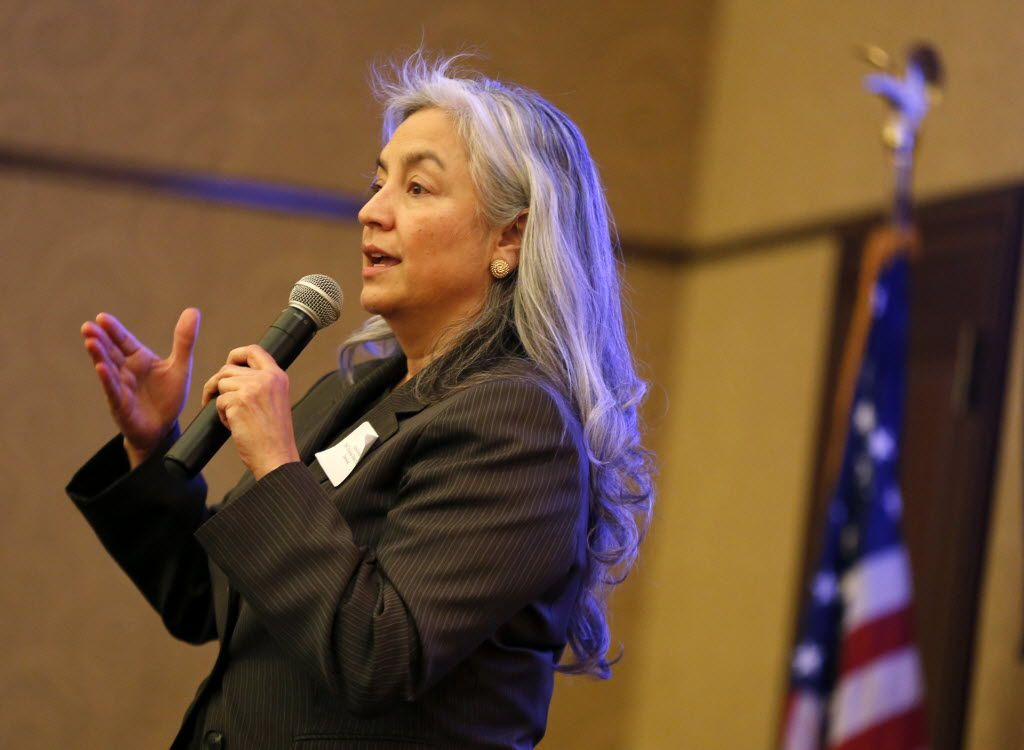 Lena Levario, attorney and former state district judge. (Tom Fox/Staff Photographer)