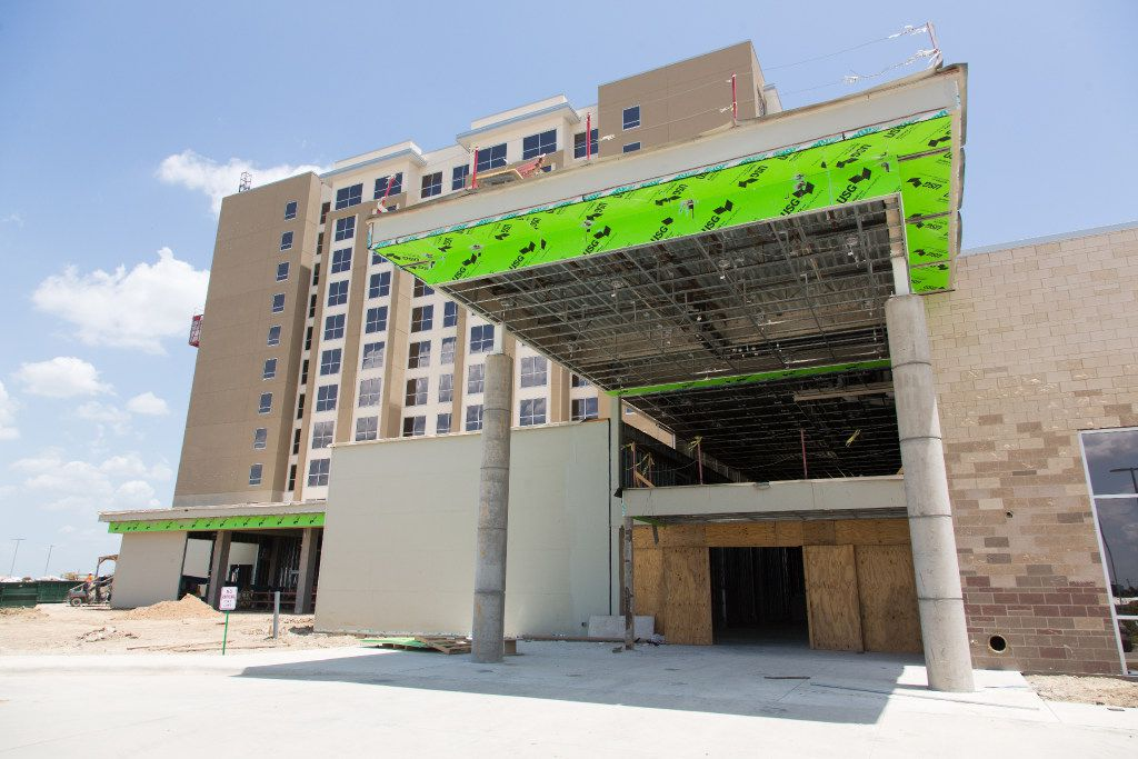 A look at Denton's first hotel and convention center. (Jeff Woo/DRC)