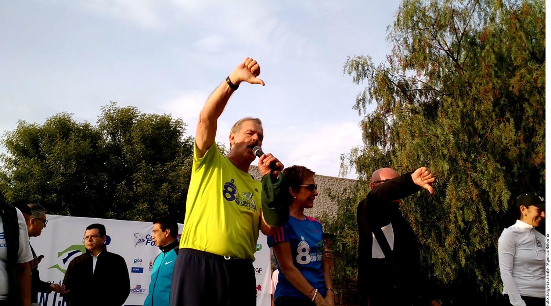 El ex Presidente Vicente Fox (amarillo) pidió la renuncia de Alfredo Castillo a la Conade por el mal desempeño de México en los Juegos Olímpicos./AGENCIA REFORMA