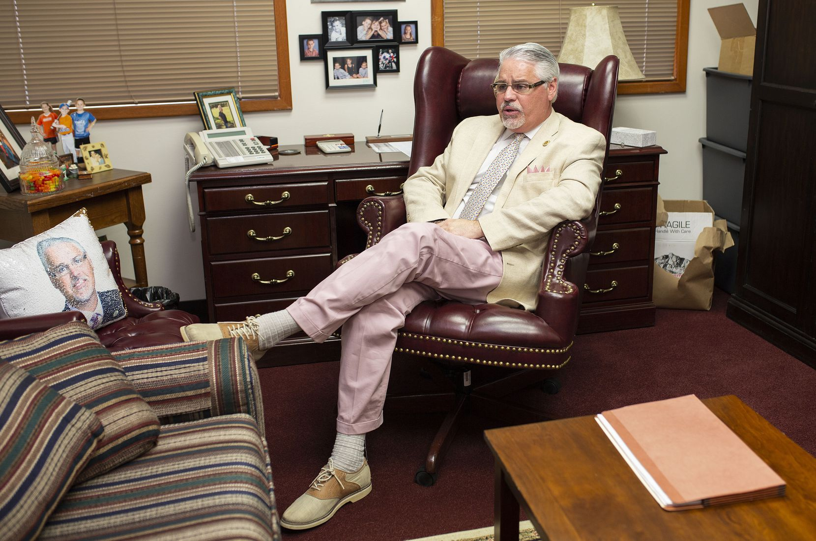 Humble Rep. Dan Huberty, he of the colorful suits, is the architect of the House's school finance overhaul. He almost didn't run again after a disastrous 2017 legislative session.
