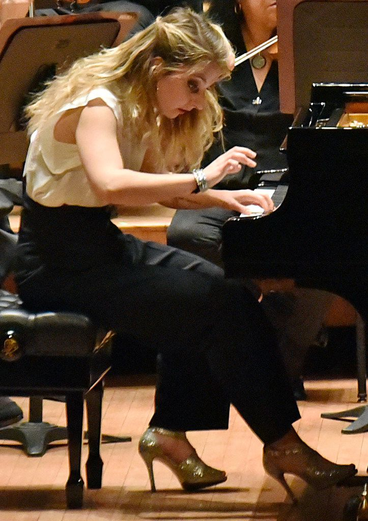 The Dallas Symphony Orchestra with pianist Lise de la Salle perform Beethoven Concerto No. 4 in G major for piano and orchestra, Op. 58.