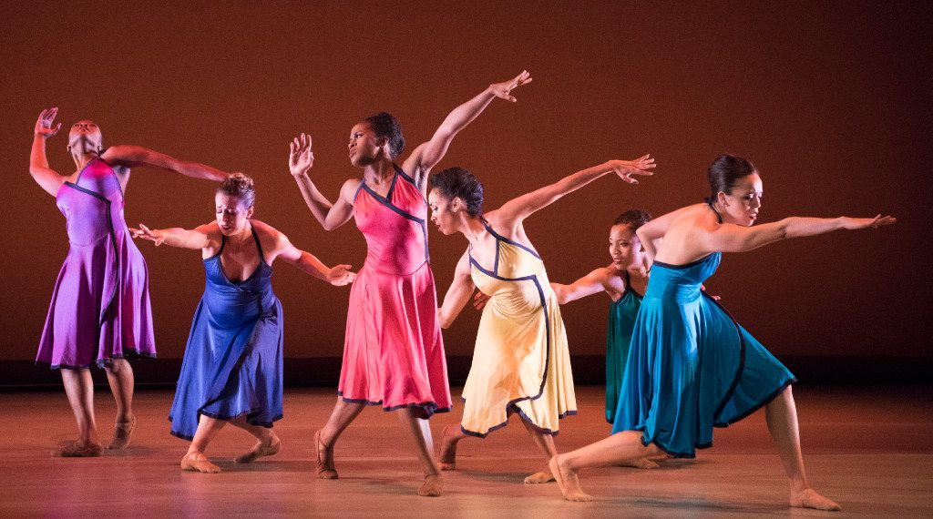 Dallas Black Dance Theatre performs Darryl B. Sneed's ...And Now Marvin during a dress rehearsal at the Dee and Charles Wyly Theatre on Thursday, Feb. 16, 2017. (Rex C. Curry/Special Contributor)