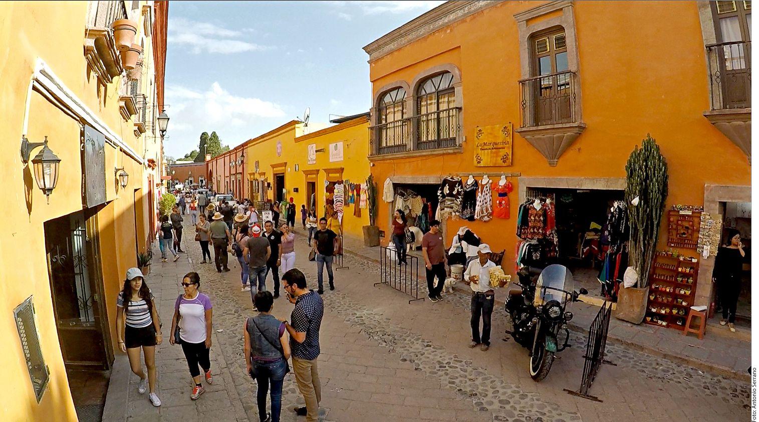 En 2017 Querétaro recibió 2.4 millones de turistas, de acuerdo con información de Hugo Burgos, secretario de Turismo de la entidad. (AGENCIA REFORMA)
