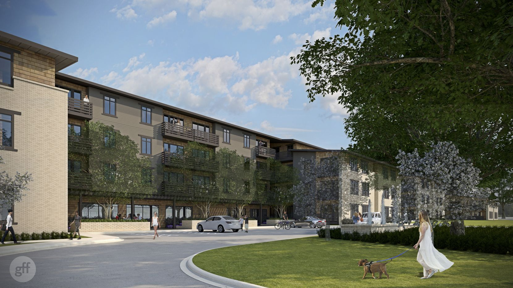 Trammell Crow Residential's new Lower Greenville apartment project will have more than 400 rental units.