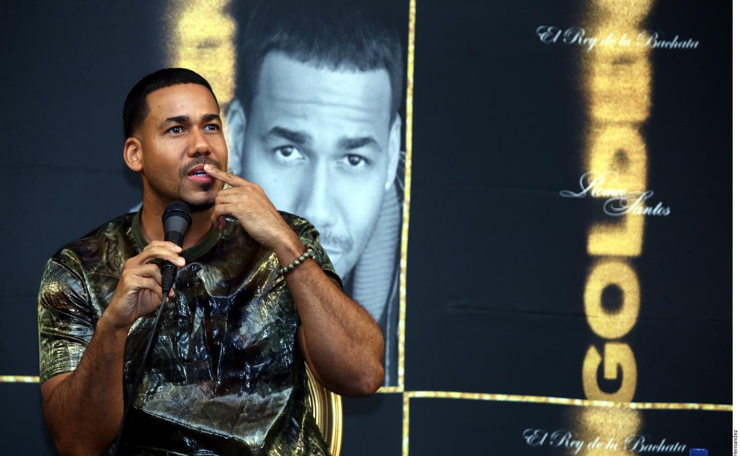 Romeo  Santos dice que 'Golden' es su álbum más  completo.(AGENCIA REFORMA)