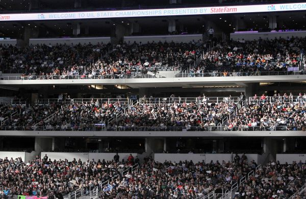 Big-money games -- even at the high school level -- are often played in big-money venues, such as Cowboys Stadium in Arlington, where a large crowd turned out for last year's Class 4A state championship game between Austin Lake Travis and Denton Ryan.