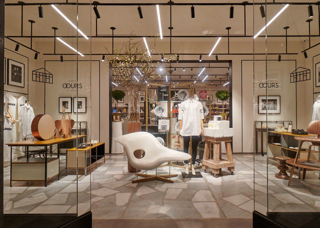 Vignette of The Conservatory, Hudson Yards, New York, a new concept store by Brian Bolke