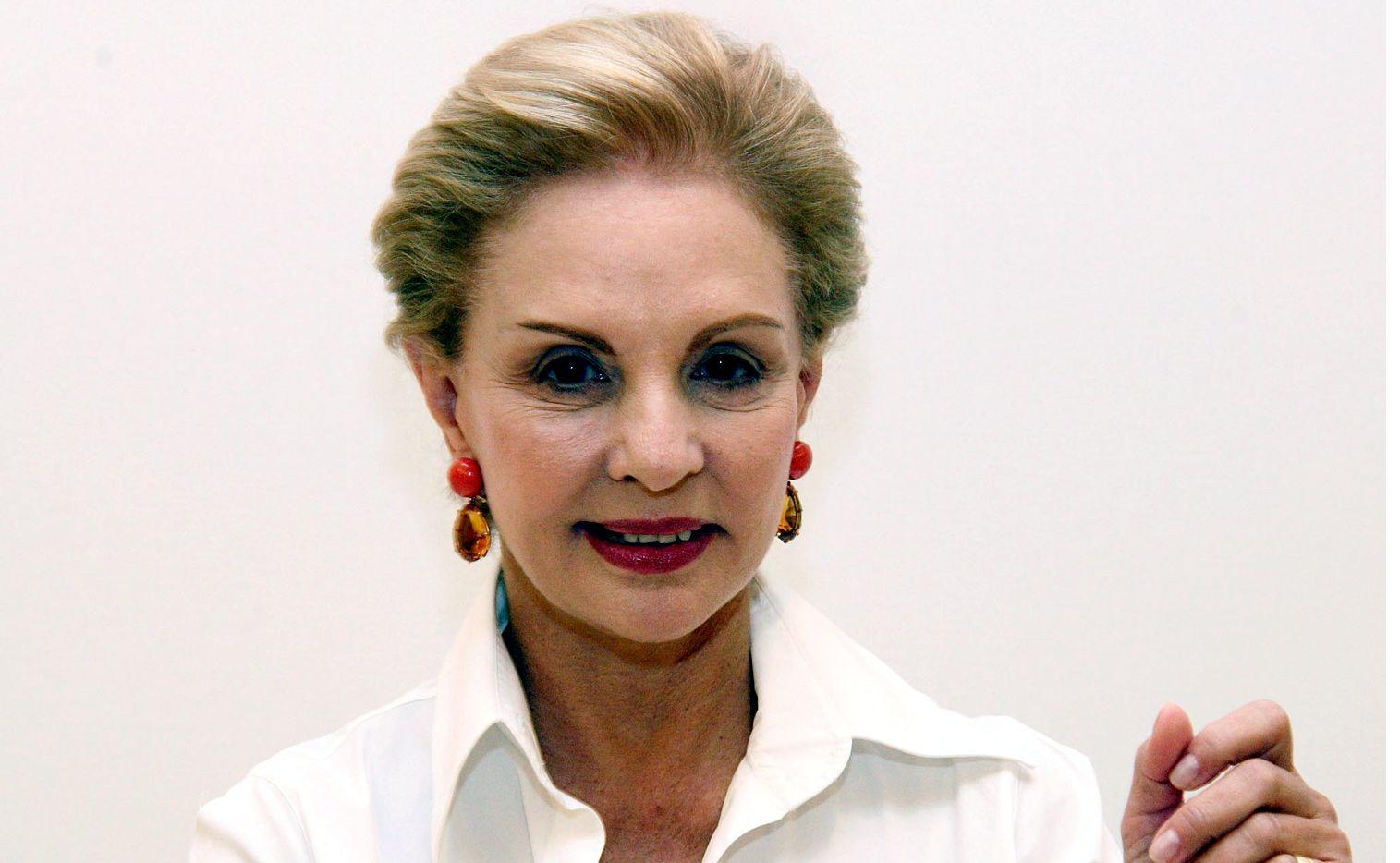 Carolina Herrera pasará de ser directora creativa de su marca a ser sólo embajadora de la empresa; cederá su puesto a Wes Gordon./ AGENCIA REFORMA