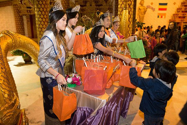 The Wat Lao Rockwall celebrated the end of Buddhist Lent with a celebration Saturday. Photos by Jarvis Jacobs/Special Contributor.