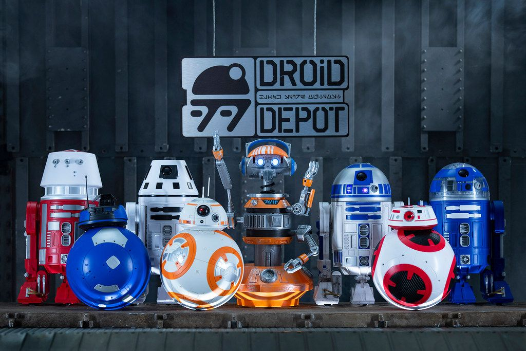 Perhaps the priciest souvenir in the new land is a life-size automated R2-D2 for $25,000. Guests can customize their own droid for around $100.