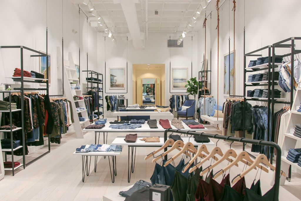 Los Angeles boutique Paige opened in NorthPark Center in Dallas on Aug. 22, 2018.
