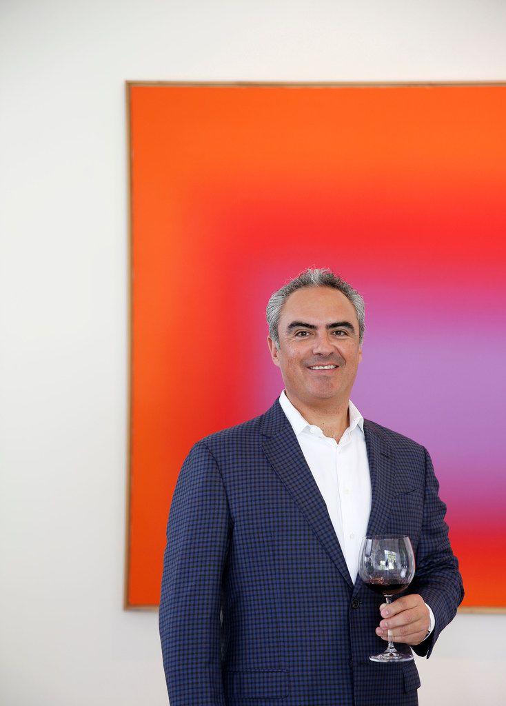 Hugo Del Pozzo, owner of Pinea wine