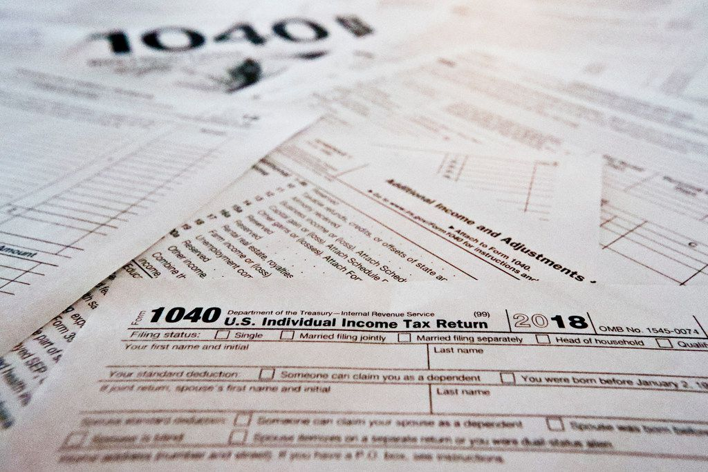 Much attention is being paid this year to average tax refund that Americans are getting. But that's a poor metric to determine if your taxes have gone up or down. (AP Photo/Keith Srakocic)