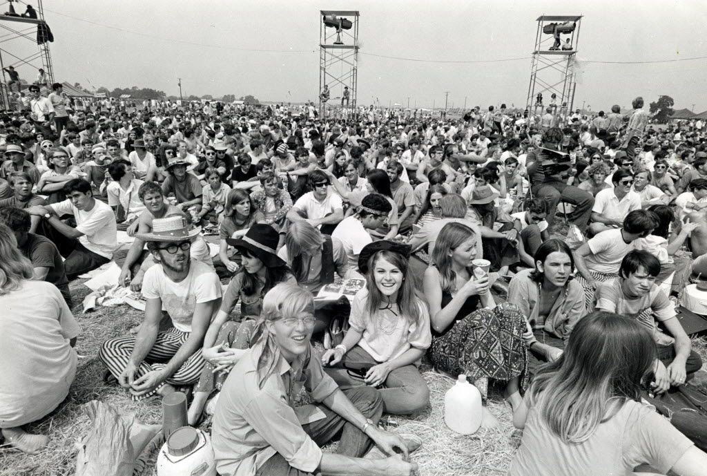 """Two weeks after Woodstock, on Labor Day weekend 1969, Lewisville reluctantly hosted the Texas International Pop Festival. It was a benign skirmish in the war between the hippies and """"the Establishment' during the long, hot summer of 1969 -- not to mention the wildest weekend in Lewisville history."""