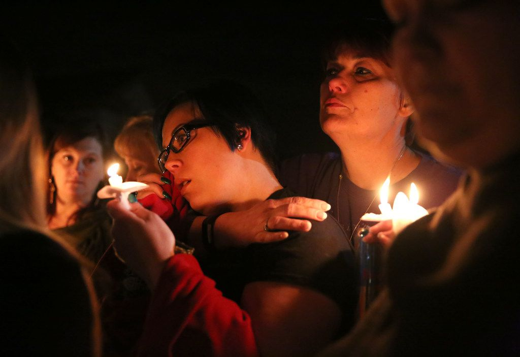 A candlelight vigil for Christina Morris was held  on March 8 near where her body was found in Anna, Texas.