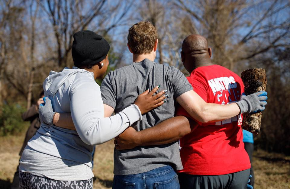 Mark Zuckerberg spent MLK Day with members of the Oak Cliff community in Dallas