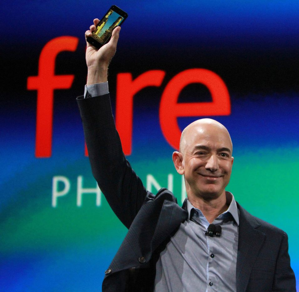 Amazon CEO Jeff Bezos in Seattle in a June 2014 file image. In a press release Thursday, Amazon announced it is planning to build a second, 'equal' headquarters in another city. (Ken Lambert/Seattle Times/TNS)