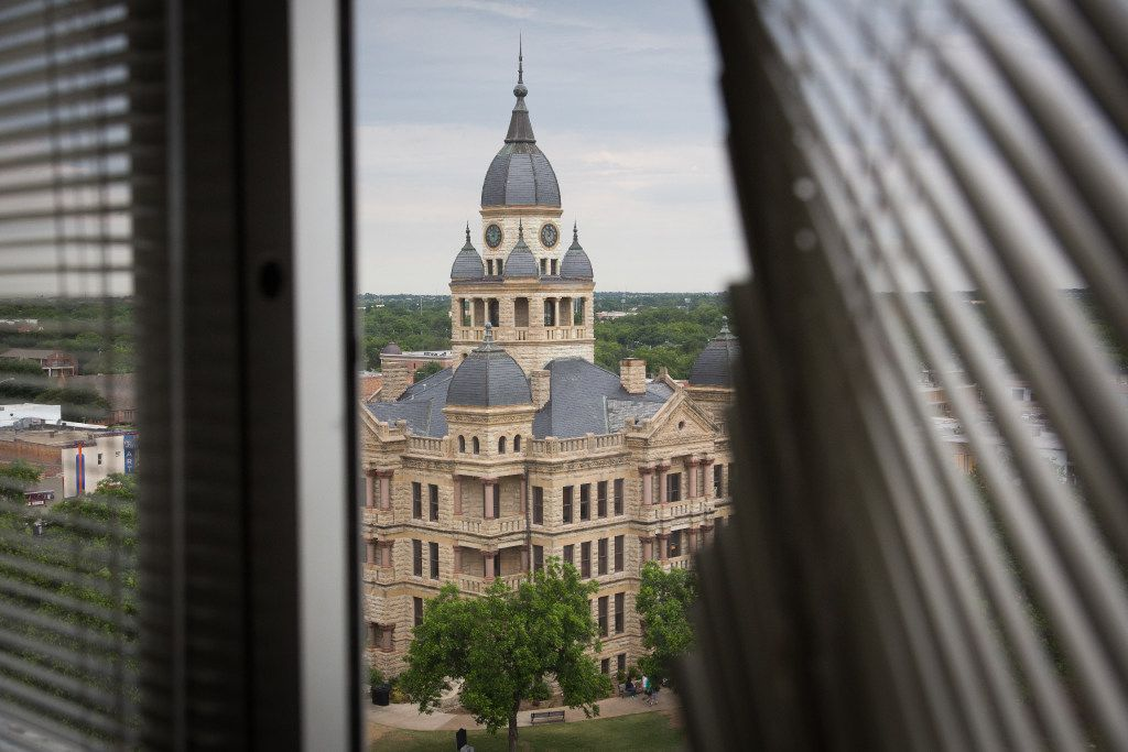 Sunago Bell, a restaurant, was supposed to be located on the eighth floor of this Denton building. Now, it'll be an event space.
