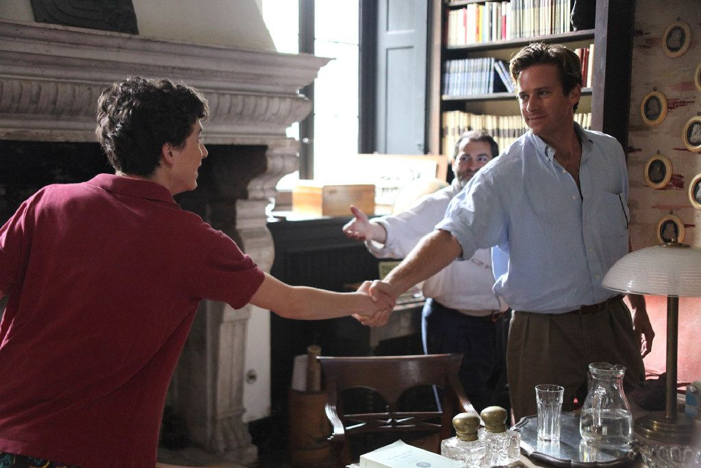 """TimothŽe Chalamet and Armie Hammer appear in """"Call Me by Your Name"""" by Luca Guadagnino, an official selection of the Premieres program at the 2017 Sundance Film Festival. Highland Park's Artie Hammer stars in this massively buzzed romantic drama set on the Italian Riviera."""