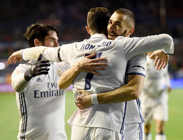 Madrid enfrenta al Napoli. Foto GETTY IMAGES