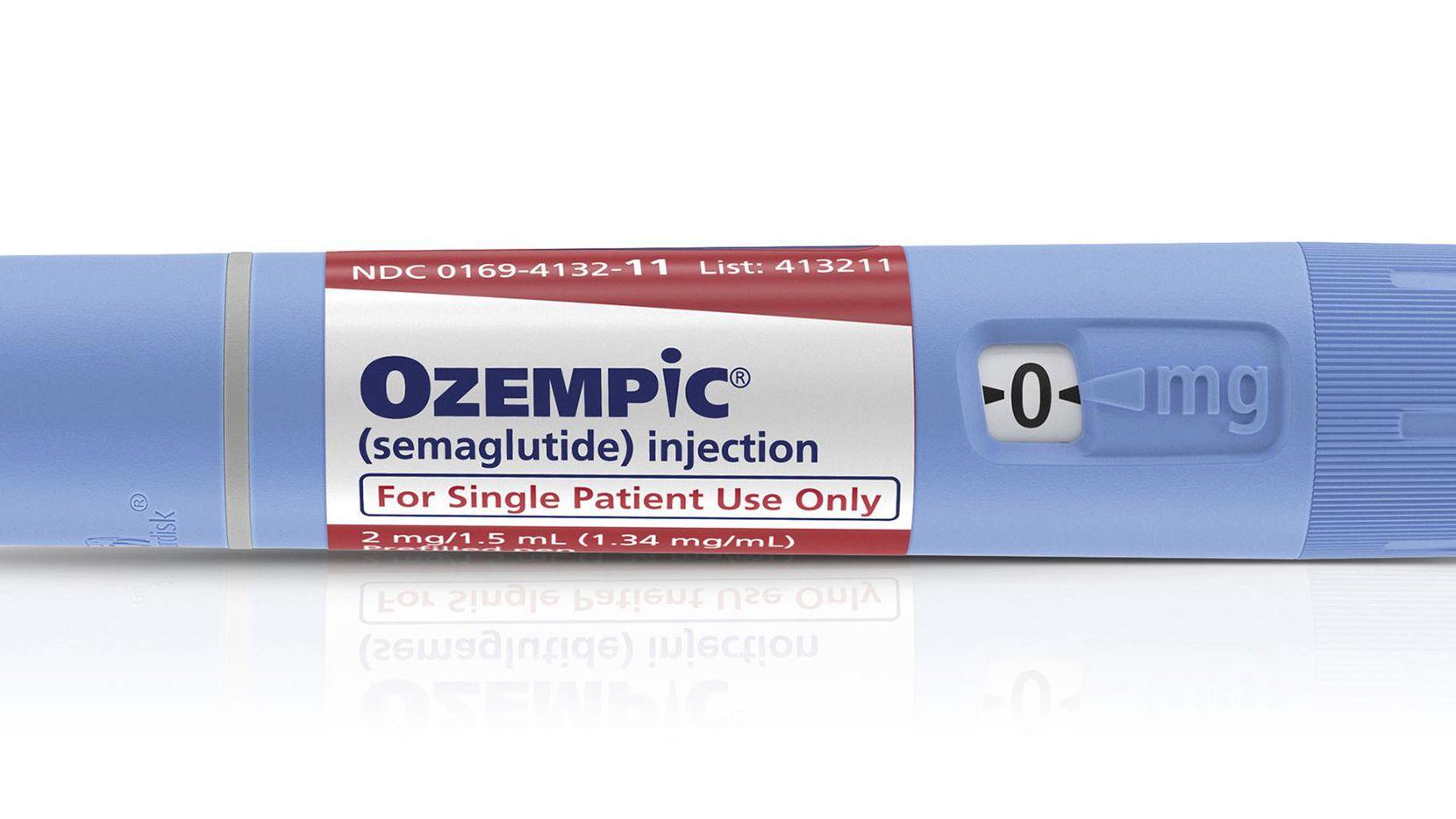 El fármaco Ozempic.(AP)