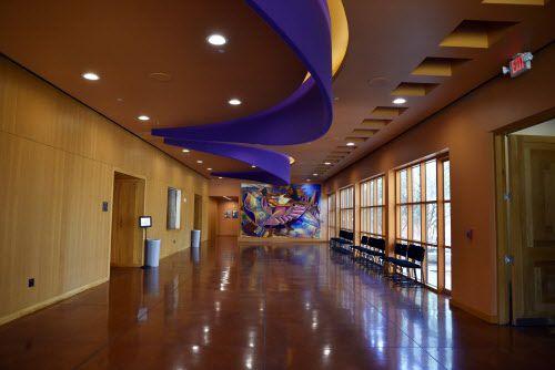 El Centro Cultural Latino cumplió 15 años de existencia el 15 de septiembre de 2018. En la imagen el lobby principal Foto: Ben Torres/ Especial para Al Día
