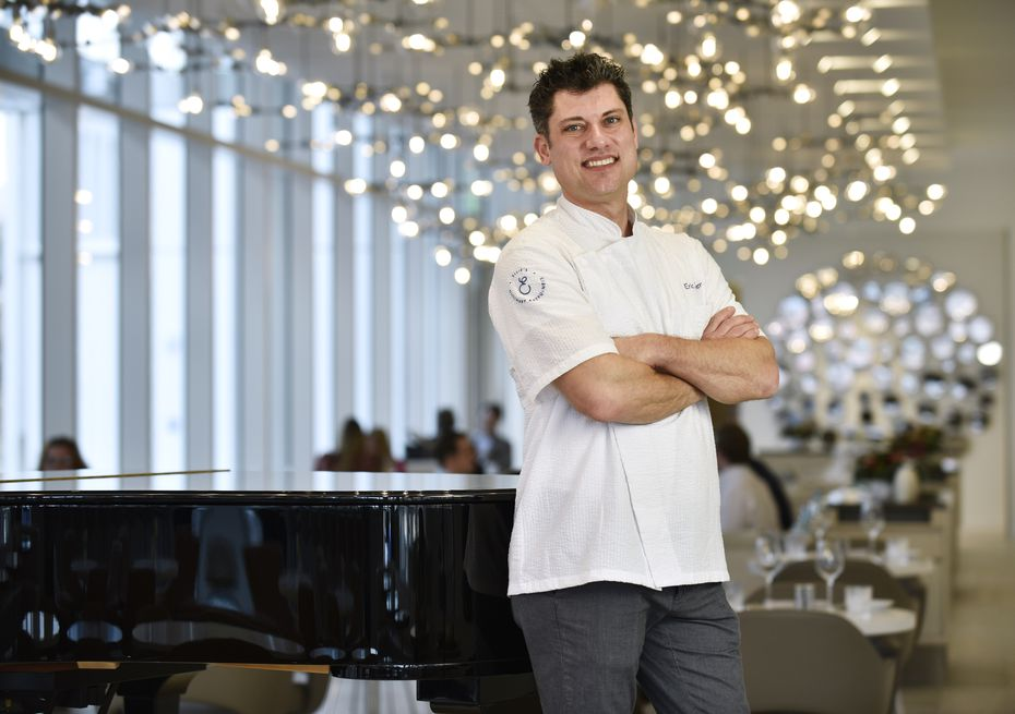 Executive Chef Eric Dreyer has an impressive resume, having been Oprah Winfrey's personal chef and the former executive chef at Fearing's in the Ritz-Carlton in Dallas.