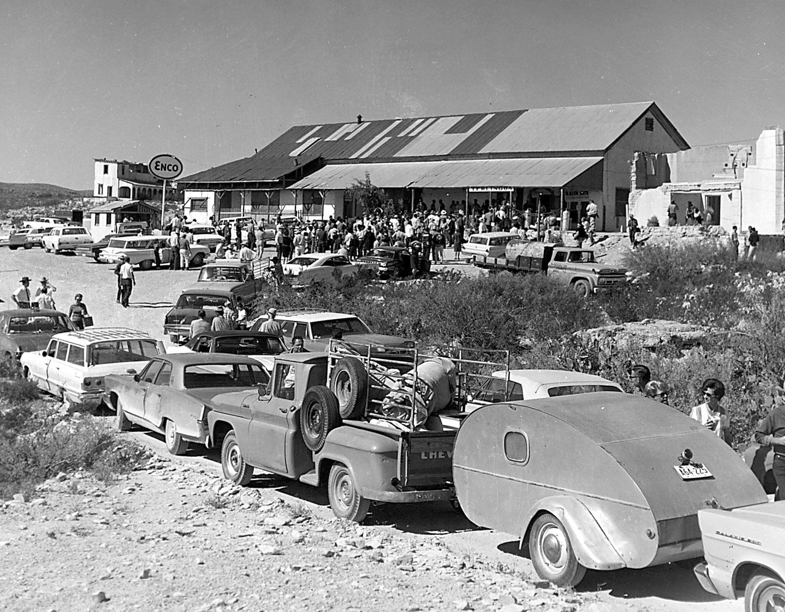Terlingua has been the chili cook-off capital of Texas since the 1960s.