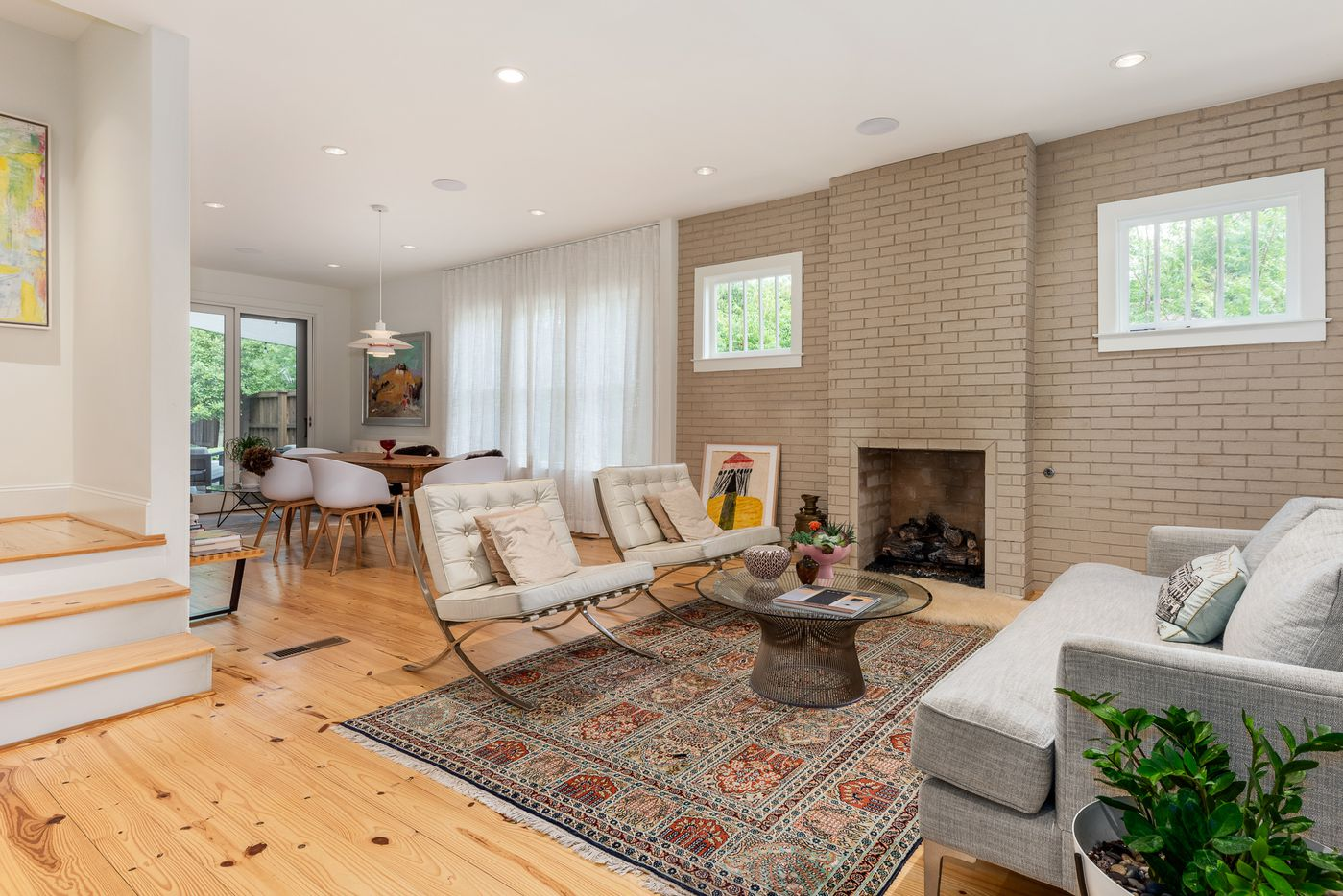 A look at 319 N. Edgefield Avenue in Dallas, one of the houses on the 2019 Heritage Oak Cliff Home Tour.