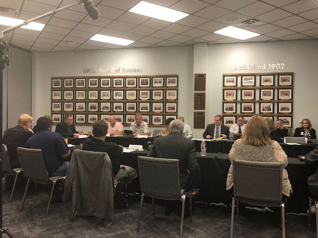 The Grand Prairie ISD school board met in a public workshop on Sept. 25, 2018, to try to upgrade its purchasing policy.