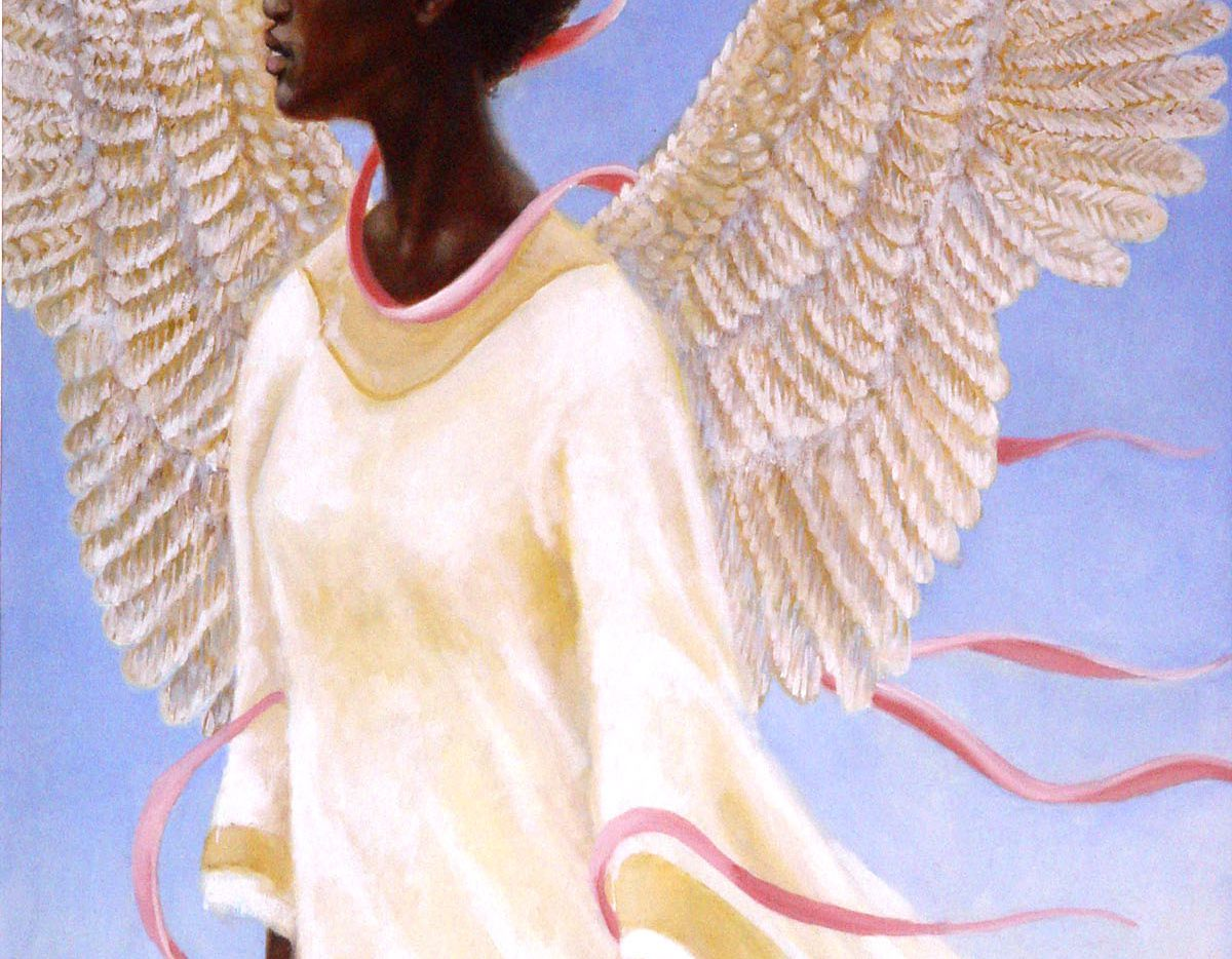 Angel of Ascension by Arthello Beck, published with permission of his widow Mae Beck.