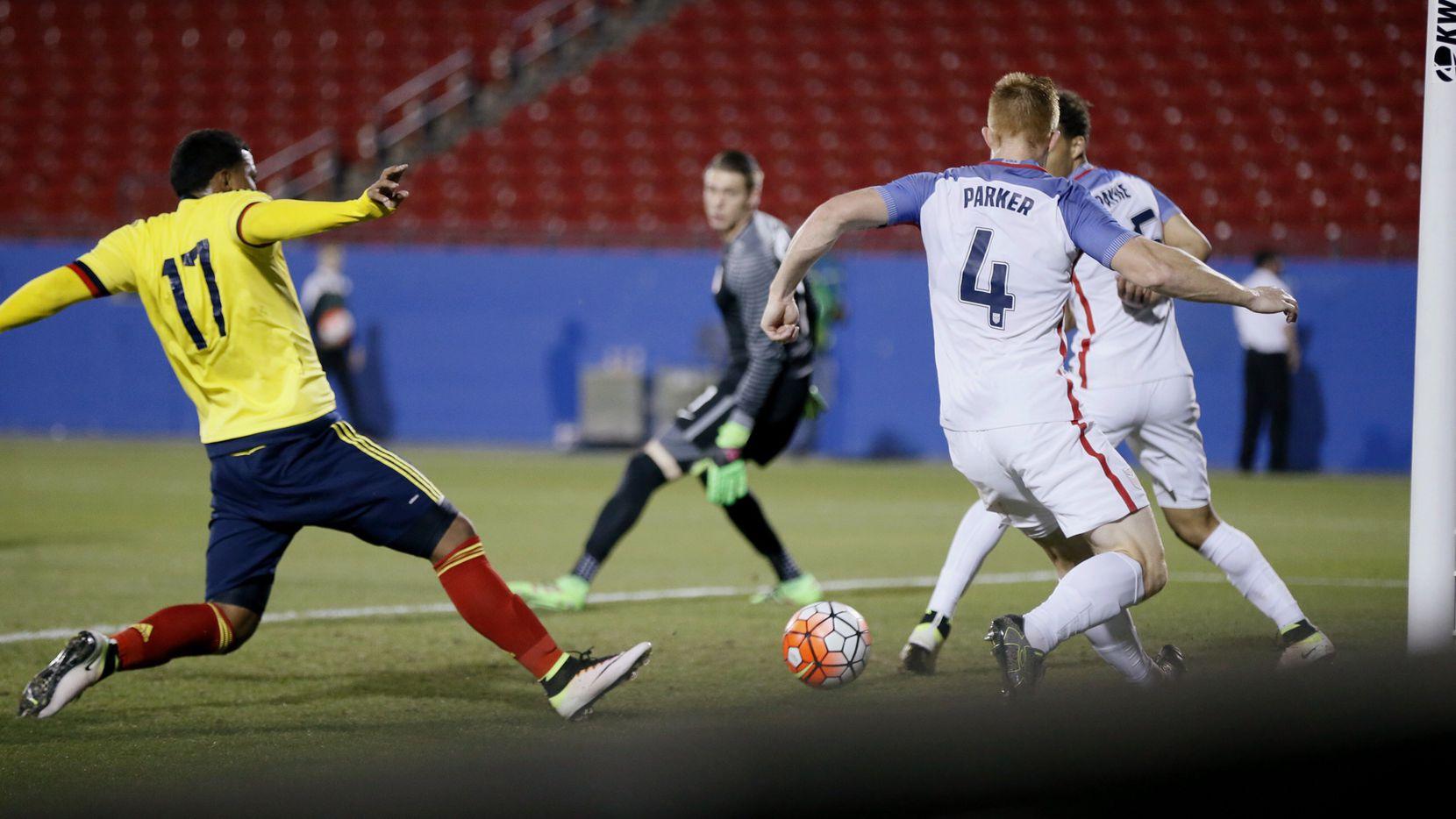 Colombia y Estados Unidos se enfrentaron el martes en Frisco.