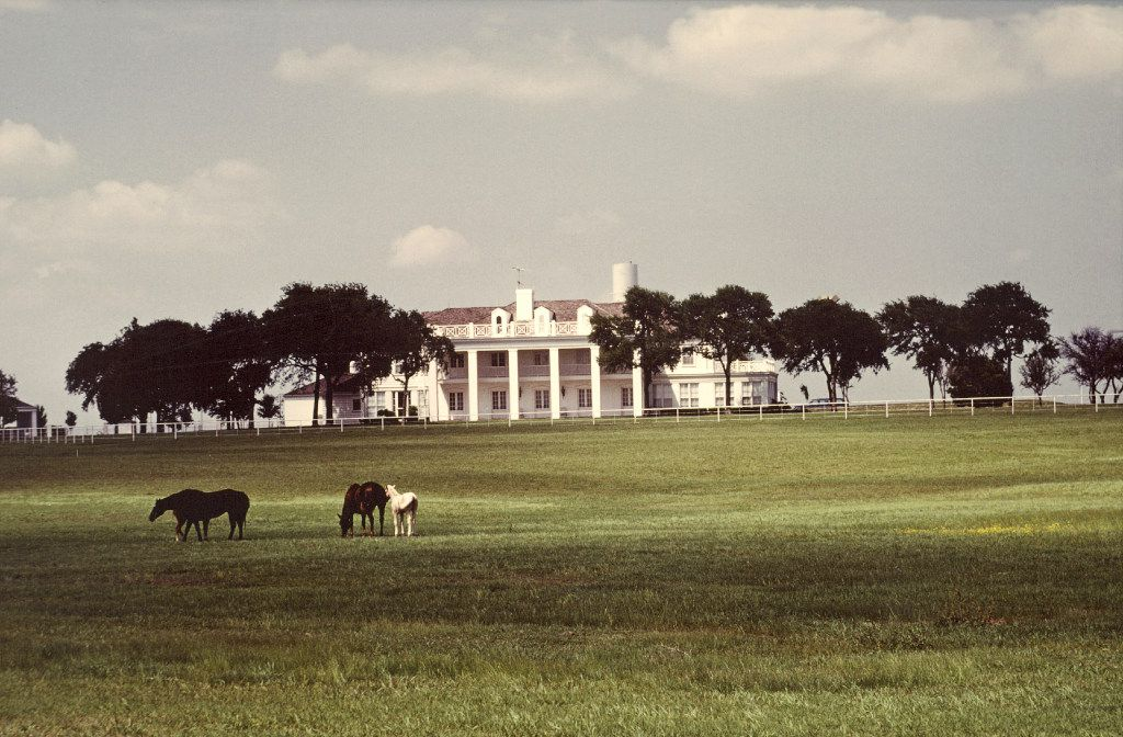 The original house at the Box Ranch was used as Southfork during the first season of the TV show Dallas.